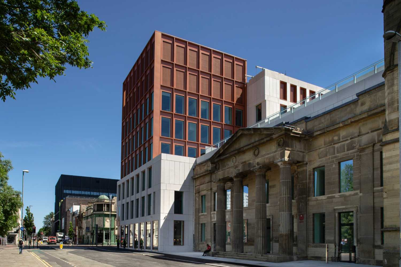 Exterior MMU Arts & Humanities Building Grosvenor
